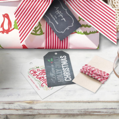 Holiday Custom Gift Tags
